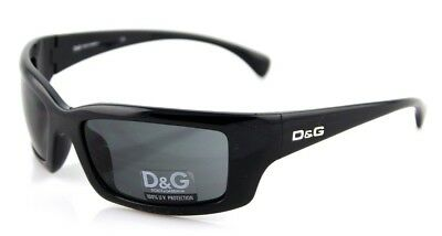 7320cdea805 RARE NEW Authentic D G Dolce   Gabbana Black Wrap Sunglasses DG 8032 ...