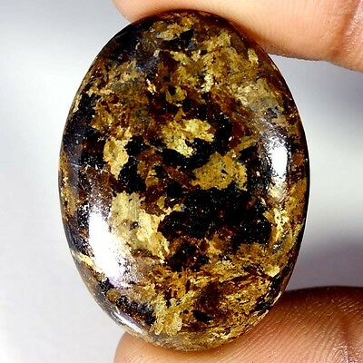 57.35Cts Designer A+ 100% Natural Bronzaite Oval Cab Loose Gemstone