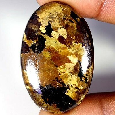 71.15Cts Designer A+ 100% Natural Bronzaite Oval Cab Loose Gemstone