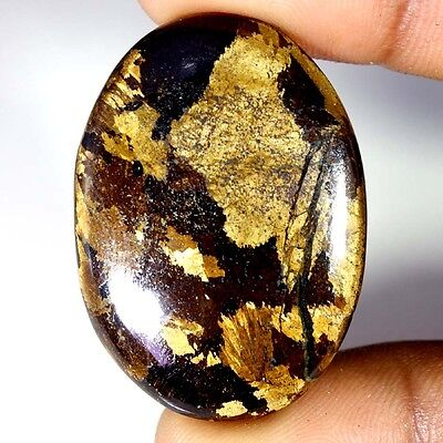 59.45Cts Designer A+ 100% Natural Bronzaite Oval Cab Loose Gemstone