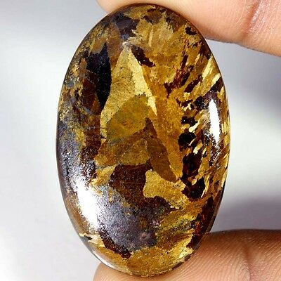 60.75Cts Designer A+ 100% Natural Bronzaite Oval Cab Loose Gemstone