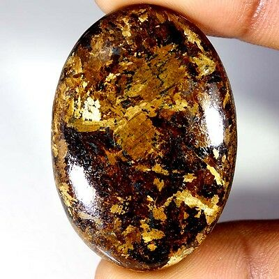 78.65Cts Designer A+ 100% Natural Bronzaite Oval Cab Loose Gemstone
