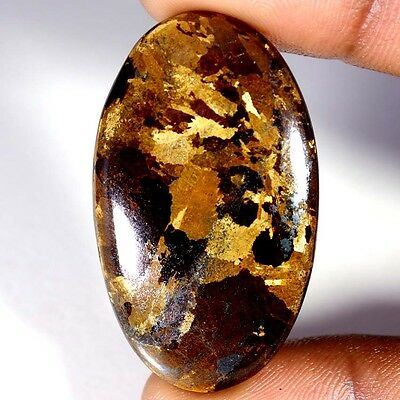 59.60Cts Designer A+ 100% Natural Bronzaite Oval Cab Loose Gemstone