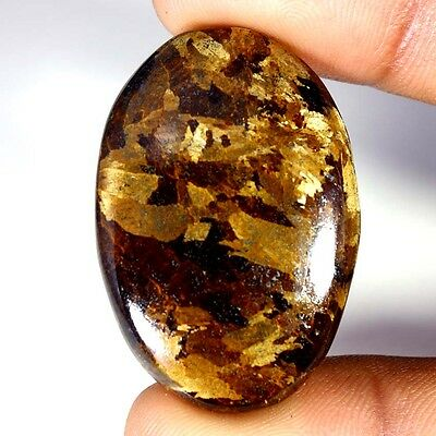 69.30Cts Designer A+ 100% Natural Bronzaite Oval Cab Loose Gemstone