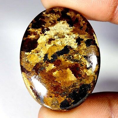 55.50Cts Designer A+ 100% Natural Bronzaite Oval Cab Loose Gemstone