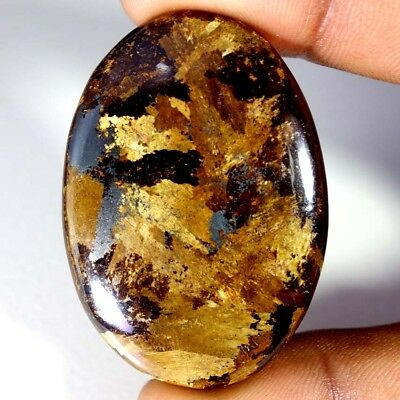 91.25Cts Designer A+ 100% Natural Bronzaite Oval Cab Loose Gemstone