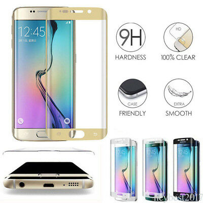 For Samsung Galaxy S7 Edge /S8 Screen Protector Full Coverage 9H Tempered Glass