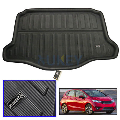 Tailored Cargo Boot Mat Liner Rear Trunk Floor Tray For Honda Jazz 2015-2019