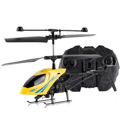 Mini Aircraft 901 2.5CH Remote Control RC Helicopter Radio LED Kids Toy Gift New