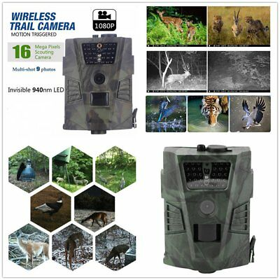NEW Hunting Trail Camera Video Scoutiaredng Infr Game HD 12MP  GPRS HC-300M