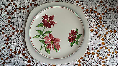 Stylecraft by Midwinter Staffordshire Semi-Porcelain England Plate 1950s Vintage