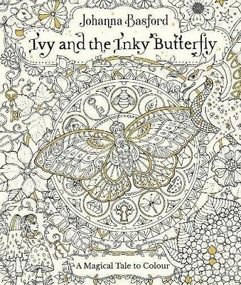 Ivy And The Inky Butterfly Colouring Books By Johanna Basford