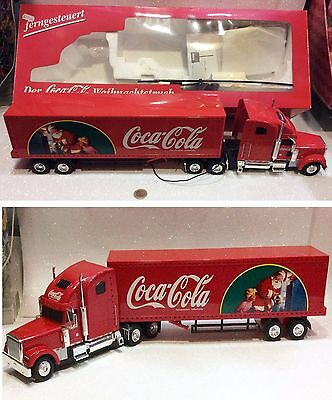 Coca Cola Camion Luminoso Holiday Caravan Truck With Light Remote Control 2000