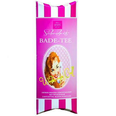 Zartgefühl Badetee GIRLS BEST FRIENDS Vanille, Zitrone 100%Vegan Made in Germany