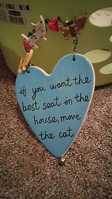 Cat Decoration - wall hanging-  Cat lover