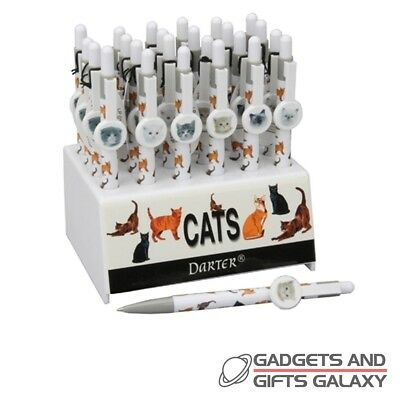 CAT LOVERS RETRACTABLE NOVELTY PEN ASSORTED Gadgets gifts & games