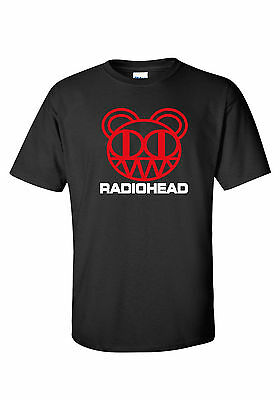 ** RADIOHEAD  ** logo  T SHIRT *   classic rock alternative  creep ok computer