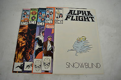 Alpha Flight Comic Books 5 Lot 6 7 8 9 10 NM Puck Vindicator Northstar