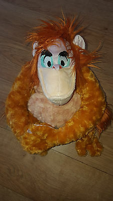 Disney Store Exclusive The Jungle Book King Louie Orangutan Soft Toy Approx 14""