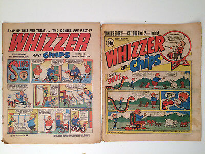 Whizzer and Chips Comic 10th October 1981