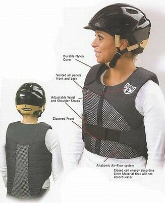 Phoenix Tipperary Air Esprit Riding Safety Vest - As New