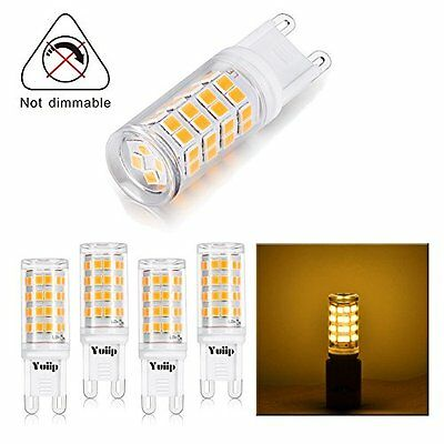 YUIIP G9 led Warm White 3000K 3W 420LM Replacement For halogen Bulb ...