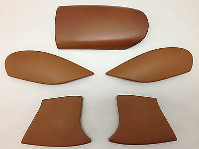 1999-2004 Porsche 996 911 Center Console Natural Brown Leather Upgrade P6003