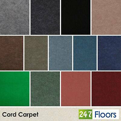 Cord Carpet Cheap Budget Foam Back Home, Commercial, Exhibition Or Temporary Use