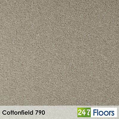 Cottonfield 790 Moorland Carpet Flecked Twist Pile Action Felt Back 4m & 5m Wide