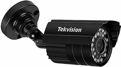 New Set Of 4 Tekvision Security Bullet Cameras W/ Wires Cctv 24 Leds Night