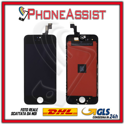 DISPLAY LCD VETRO TOUCH Apple iPhone 5S SCHERMO ORIGINALE TIANMA Nero