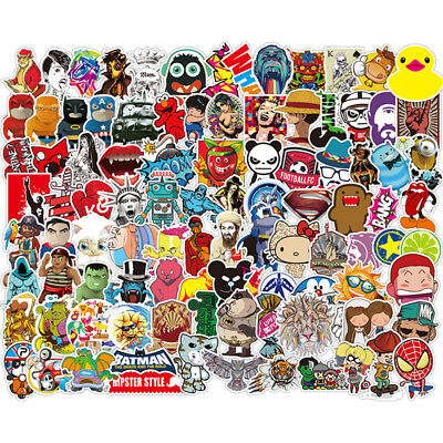 500pcs Sticker Vinyl Roll Car Skate Skateboard Laptop Luggage Suitcase Decal