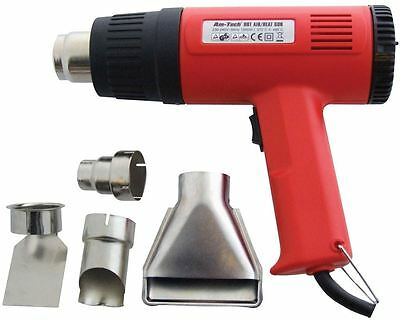 1500W Hot Air Gun With 4 Nozzles Paint Stripper Stripping Heat Shrink Power Tool