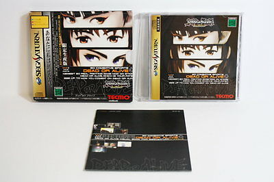 Dead or Alive Limited Edition Sega Saturn SS Japan Import US Seller SHIP FAST