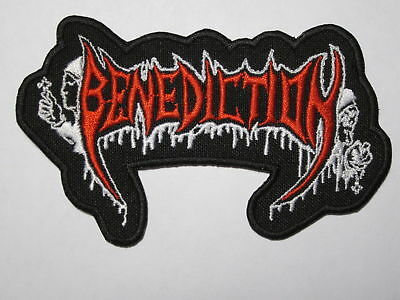 BENEDICTION logo embroidered NEW patch death metal