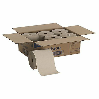 Georgia Pacific Envision Hardwound Paper Towel Roll, Brown, 26301 - CASE OF 6