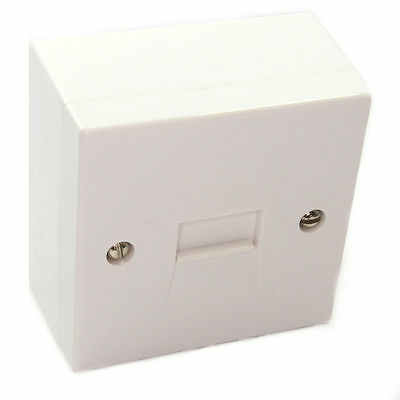 Phone Line Extension Socket BT Secondary Screw Connections Back BOX MILLS