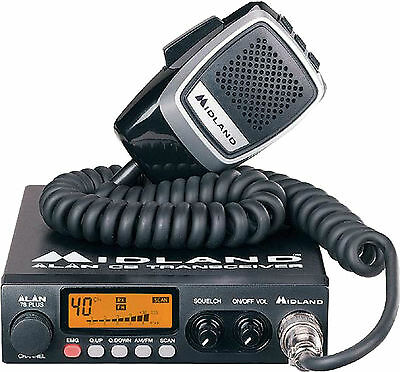 Cb Radio Mobile Midland Alan 78 Plus Multi Standard