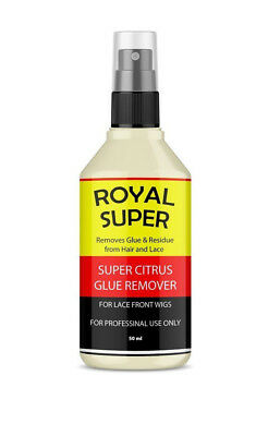 Royal Super Citrus Lace Front Glue Remover Solvent For Lace Front Wigs Spray