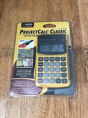 The ProjectCalc Classic Feet-Inch-Fraction, Meter Project Calculator Model 8503