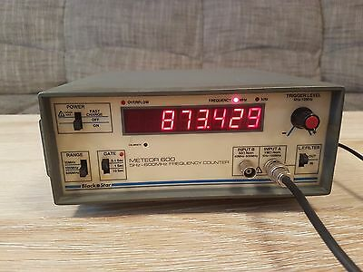 Black Star Meteor 600 Frequency Counter