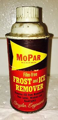 Vintage MoPar Frost and Ice Remover Spray Can - Chrysler - Detroit, Michigan