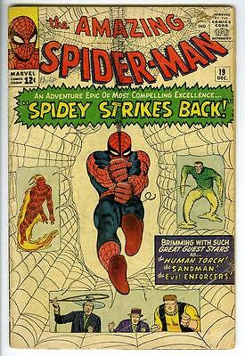 Amazing Spider-Man #19 1ST APPEARANCE of Mac Margan THE SCORPION 1964