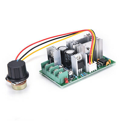 Universal DC10-60V 20A PWM HHO RC Motor Speed Regulator Controller Switch Hot FO