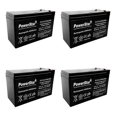 9 Pack New AB1250 12V 5AH SLA Replacement Battery for Belkin F6C150-RKM-2U UPS