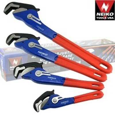 """1pc Neiko Self-Adjusting Pipe Wrench 10"""""""