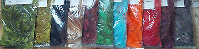 Short Neck Hackle, Small Bags, Assorted Colors