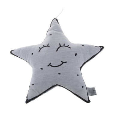 Glowing Cushion Soft Baby Comforter Toy Nursery Bedroom Decor Little Star
