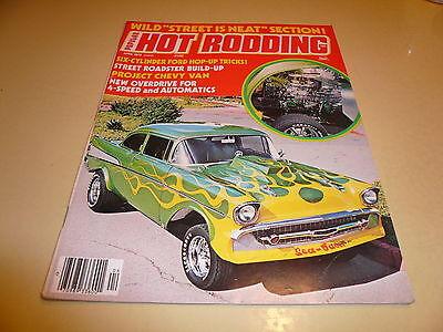 1976 Hot Rodding April Ford Hop Up tricks Project Chevy Van Street is Neat