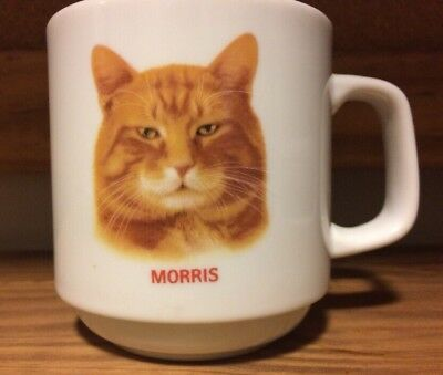 Morris the Cat Mug Decorated by Papel Vintage Nine Lives Coffee Cup